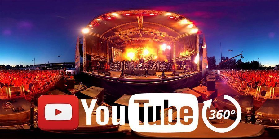youtube 360 video