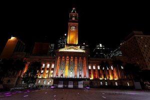 Brisbane city hall- Clock tower of Brisbane
