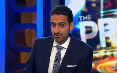 Waleed Aly won the 2016 Gold Logie Award for Best Personality On Australian TV