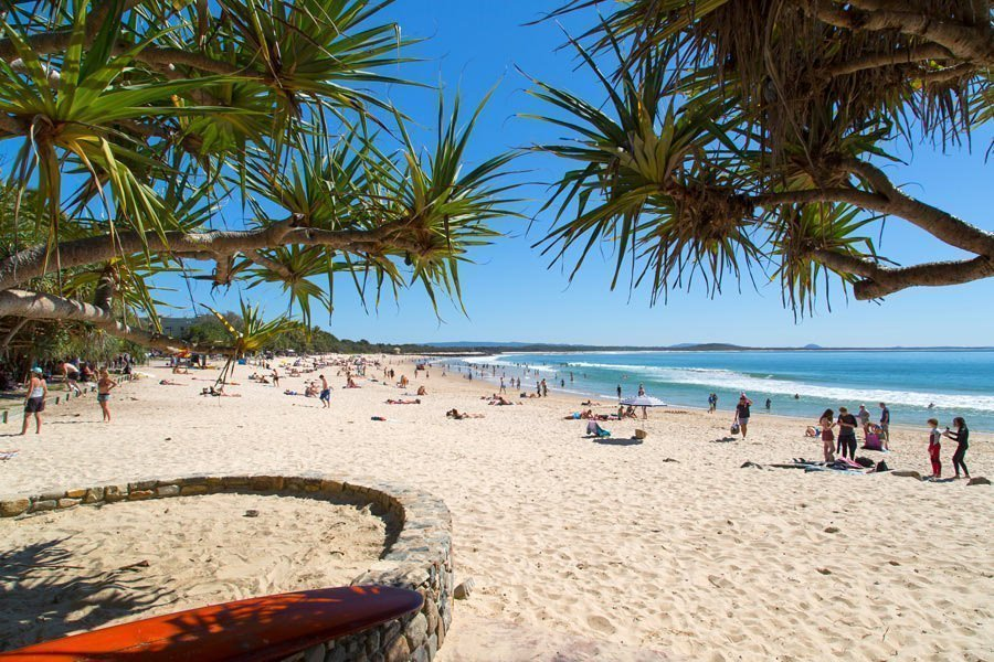 Noosa main beach qld