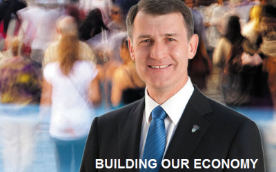 Brisbane on the Right Path under the Leadership of Lord Mayor Graham Quirk