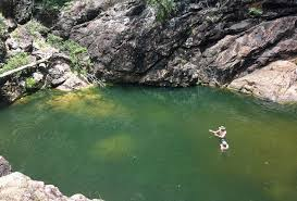 natural swim spots near brisbane